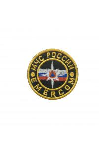 Шеврон МЧС России Emercom (90 мм)
