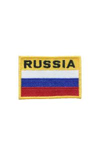 Шеврон Флаг Russia (8*6)