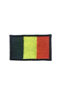 "Шеврон ""Флаг Бельгии"""