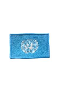 "Шеврон ""Флаг ООН"""