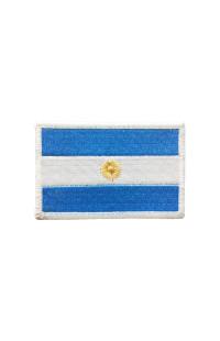 """Шеврон """"Флаг Аргентины"""""""