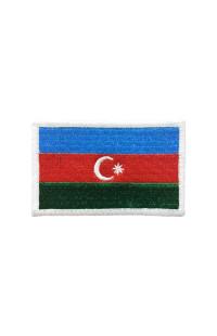 "Шеврон ""Флаг Азербайджана"""