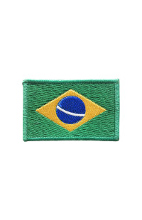 "Шеврон ""Флаг Бразилии"""