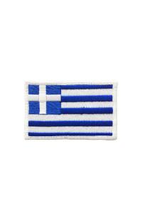 """Шеврон """"Флаг Греции"""""""