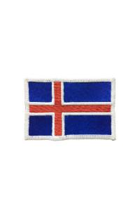 """Шеврон """"Флаг Исландии"""""""