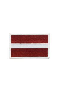 """Шеврон """"Флаг Латвии"""""""