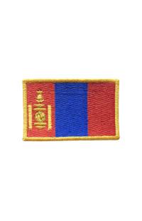 "Шеврон ""Флаг Манголии"""