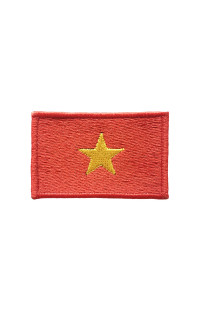 "Шеврон ""Флаг Вьетнама"""