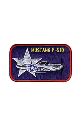 Шеврон Mustang-P51D (рамка)