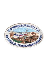 "Шеврон ""Sukhoi Superjet"""