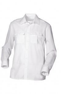 Сорочка мужская с длинным рукавом белая