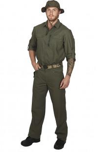 Рубашка тактическая Сафари темно-оливковый