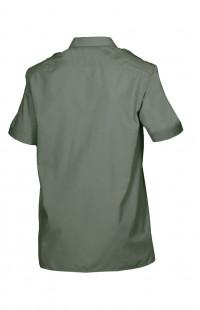 Сорочка мужская с коротким рукавом зеленый