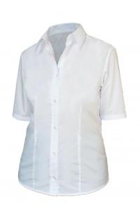 Блуза женская с коротким рукавом на заказ мод.545