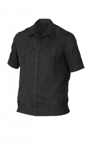 Сорочка форменная с коротким рукавом черный
