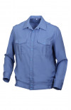 Сорочка форменная с длинным рукавом голубой