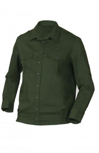 Сорочка форменная с длинным рукавом зеленый