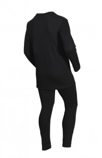 Термобелье мужское SILVER PINQUIN полипропилен/хлопок черный