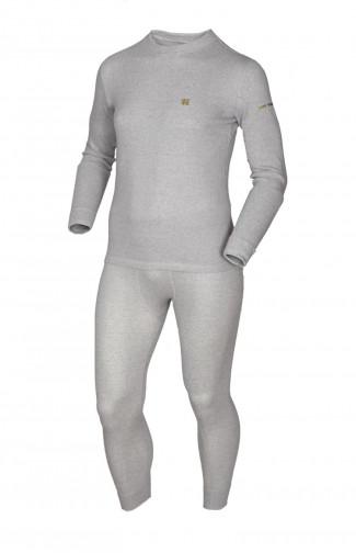 Термобелье мужское TERMOLINE COTTON серый
