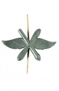 Эмблема ВВС (матовая, с пушкой)