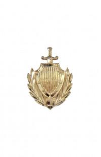 Эмблема МВД петличная золотистая
