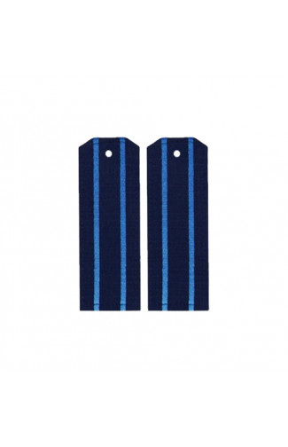 Погоны ВКС, ВДВ с двумя голубыми просветами Рип-Стоп