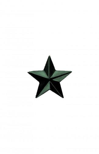 Звезда на погоны 20 мм металл защитная гладкая